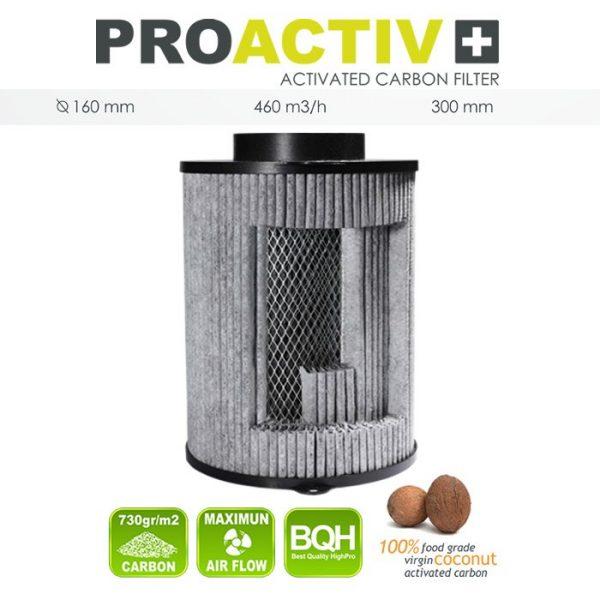 Filter Pro Activ 460M3/h, 160mm