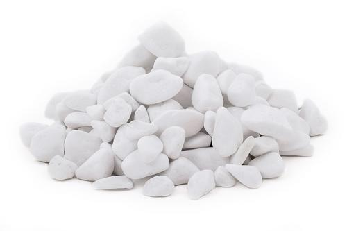 Thassos mramor/biela farba/omieľaný/1-2cm